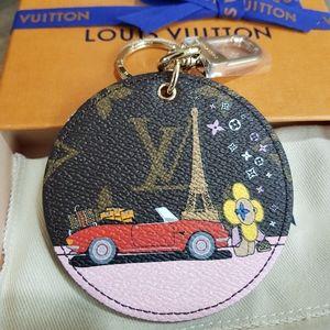 Louis Vuitton Christmas bag charm  and key holder